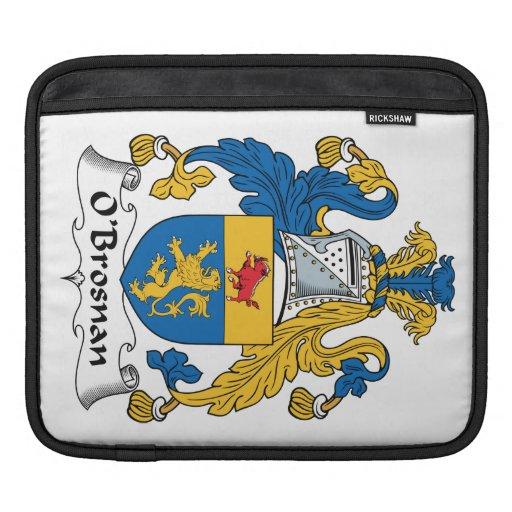 Escudo de la familia de O'Brosnan Funda Para iPads