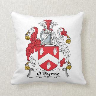 Escudo de la familia de O'Byrne Cojin