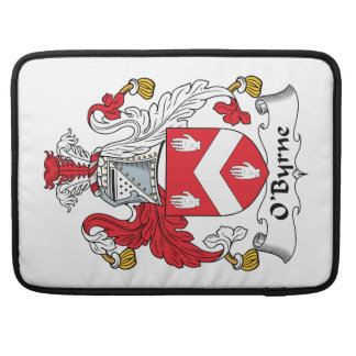 Escudo de la familia de O'Byrne Funda Para Macbook Pro