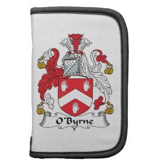 Escudo de la familia de O'Byrne Planificador
