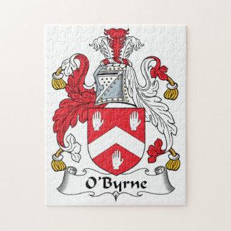 Escudo de la familia de O'Byrne Puzzles