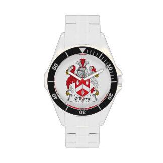 Escudo de la familia de O'Byrne Reloj De Mano