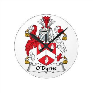 Escudo de la familia de O'Byrne Relojes