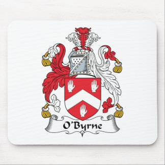 Escudo de la familia de O'Byrne Alfombrillas De Ratones