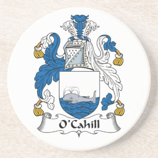 Escudo de la familia de O'Cahill Posavasos Personalizados