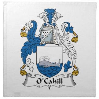 Escudo de la familia de O'Cahill Servilletas De Papel