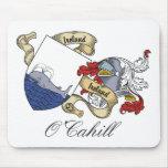 Escudo de la familia de O'Cahill Tapetes De Ratón
