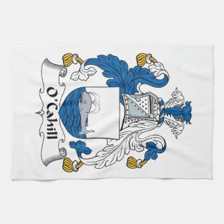 Escudo de la familia de O'Cahill Toallas