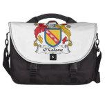 Escudo de la familia de O'Calane Bolsas Para Portátil