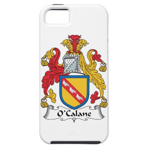 Escudo de la familia de O'Calane iPhone 5 Cárcasa