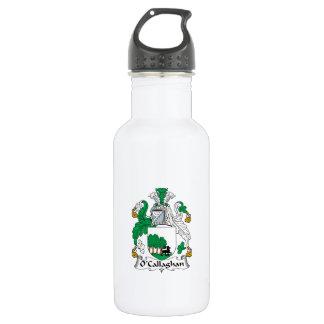 Escudo de la familia de O'Callaghan Botella De Agua De Acero Inoxidable