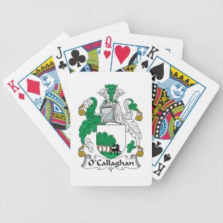 Escudo de la familia de O'Callaghan Barajas De Cartas