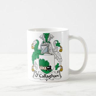 Escudo de la familia de O'Callaghan Tazas