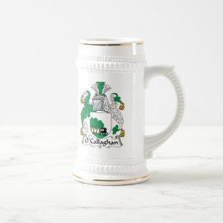 Escudo de la familia de O'Callaghan Tazas De Café