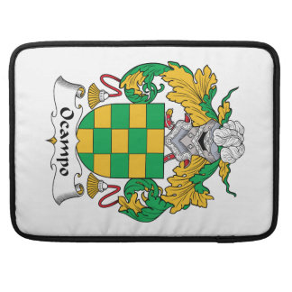 Escudo de la familia de Ocampo Fundas Macbook Pro