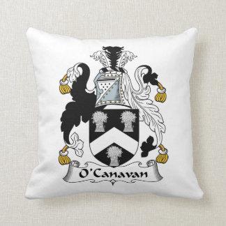 Escudo de la familia de O'Canavan Cojin