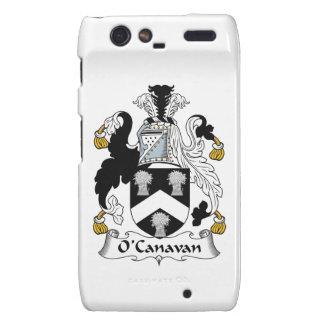 Escudo de la familia de O'Canavan Motorola Droid RAZR Funda