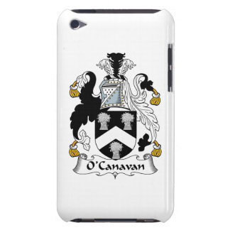 Escudo de la familia de O'Canavan iPod Touch Cobertura