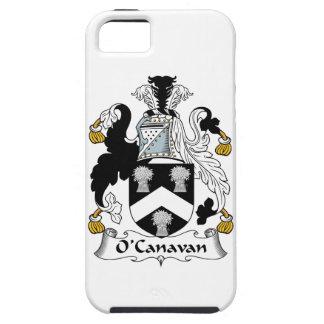 Escudo de la familia de O'Canavan iPhone 5 Case-Mate Carcasa