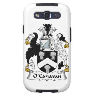 Escudo de la familia de O'Canavan Galaxy S3 Cárcasas