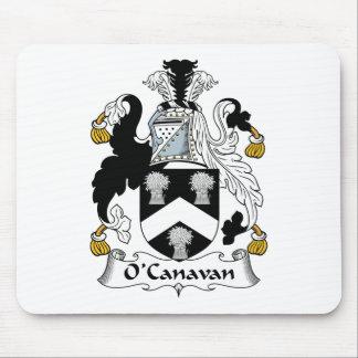 Escudo de la familia de O'Canavan Tapete De Ratón