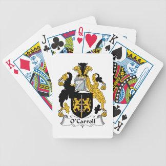 Escudo de la familia de O'Carroll Barajas De Cartas