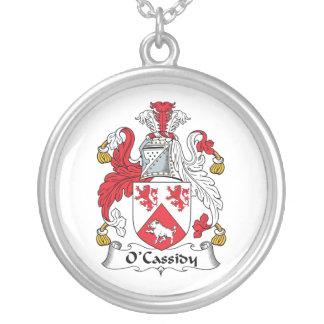 Escudo de la familia de O'Cassidy Colgante Redondo