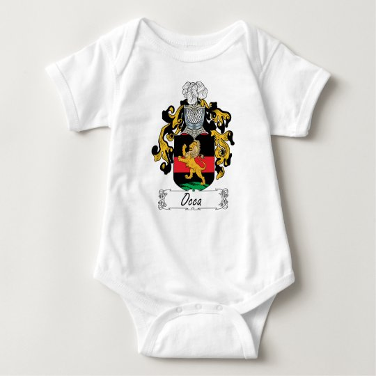 Escudo de la familia de Occa Body Para Bebé