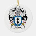 Escudo de la familia de Ochoa Ornamento De Reyes Magos