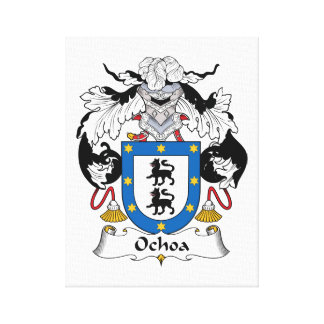 Escudo de la familia de Ochoa Lona Estirada Galerías