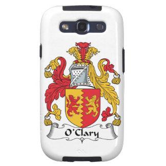 Escudo de la familia de O'Clary Samsung Galaxy S3 Carcasa