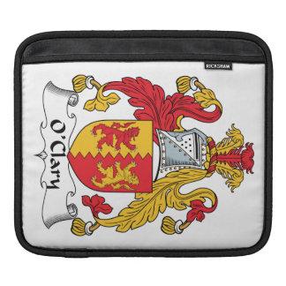 Escudo de la familia de O'Clary Fundas Para iPads