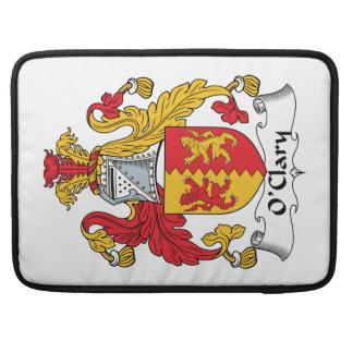 Escudo de la familia de O'Clary Fundas Macbook Pro