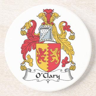 Escudo de la familia de O'Clary Posavasos Personalizados