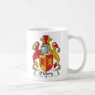 Escudo de la familia de O'Clary Tazas