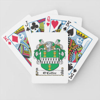 Escudo de la familia de O'Coffee Baraja De Cartas