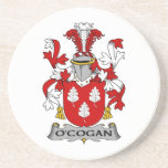 Escudo de la familia de O'Cogan Posavasos Cerveza