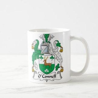 Escudo de la familia de O'Connell Tazas