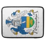 Escudo de la familia de O'Connellan Funda Para Macbooks