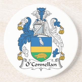 Escudo de la familia de O'Connellan Posavasos Cerveza