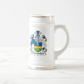 Escudo de la familia de O'Connellan Tazas De Café