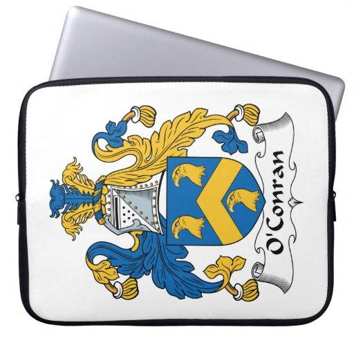 Escudo de la familia de O'Conran Fundas Ordendadores