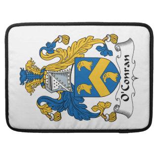 Escudo de la familia de O'Conran Funda Macbook Pro