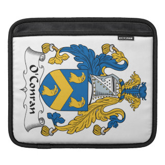 Escudo de la familia de O'Conran Fundas Para iPads