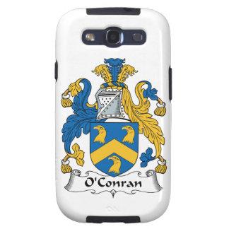 Escudo de la familia de O'Conran Galaxy S3 Fundas