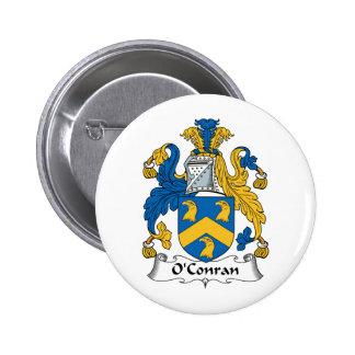 Escudo de la familia de O'Conran Pins
