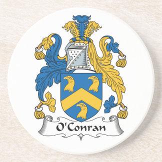Escudo de la familia de O'Conran Posavasos Cerveza
