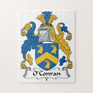 Escudo de la familia de O'Conran Rompecabezas Con Fotos
