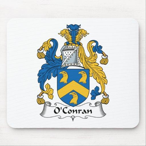 Escudo de la familia de O'Conran Alfombrilla De Raton