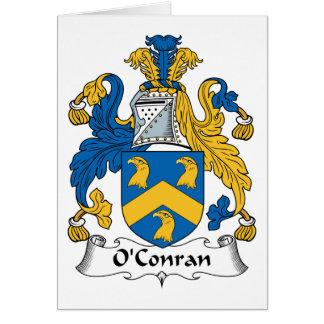 Escudo de la familia de O'Conran Tarjeton